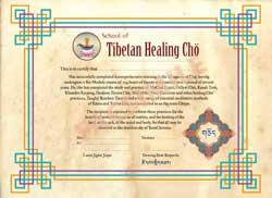 Chod Certificate