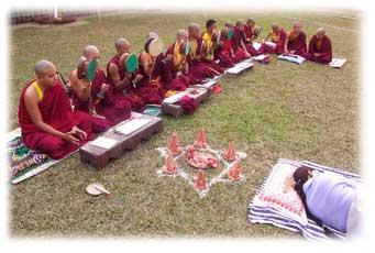 Healing Monks