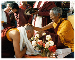 Kalu Rinpoche Blessing